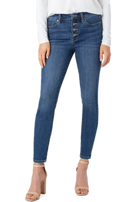 Liverpool Los Angeles Abby Sustainable High Waist Ankle Skinny Jeans