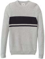 Quiksilver Men's Invasion Stripes Crew Sweater 8139225