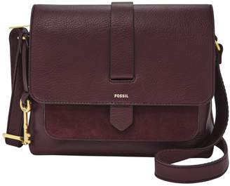 Fossil Small Kinley Leather Crossbody Bag