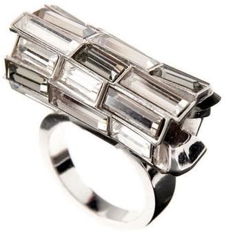 Simon Harrison Caddis Multi Baguette Ring