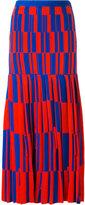 Proenza Schouler geometric pattern skirt - women - Polyamide/Polyester/Viscose - 6