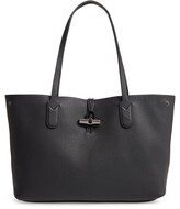 Longchamp Roseau Essential Mid Leather Tote