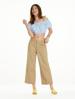 Scotch & Soda Cropped Bardot Top