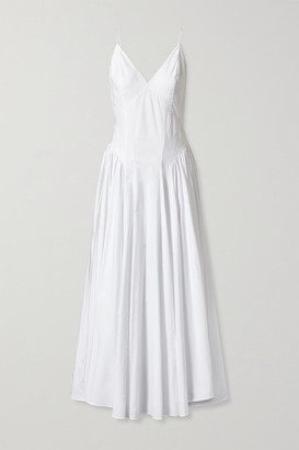 TOVE Maren Organic Cotton Maxi Dress - White