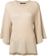 Derek Lam ribbed flared jumper