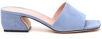 Si Rossi Square Toe Heel Sandals