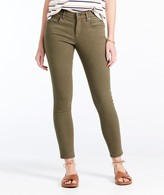 L.L. Bean L.L.Bean Signature Premium Skinny Jeans, Zip Pocket Ankle