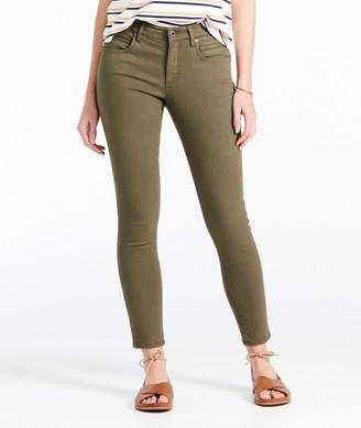 L.L. Bean Signature Premium Skinny Jeans, Zip Pocket Ankle