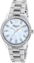 Kenneth Cole New York Oversize Silver Link Women's watch #KC4894