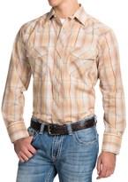 Roper Classic Metallic Plaid Shirt - Snap Front, Long Sleeve (For Men and Big Men)