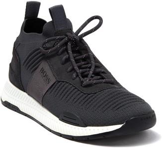 HUGO BOSS Titanium Runn Knit Sneaker
