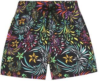 Vilebrequin Kids Jirise printed swim trunks