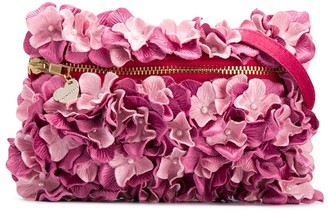 MonnaLisa Floral Applique Belt Bag