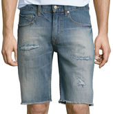 Arizona 10 Inseam Flex Cutoff Denim Shorts