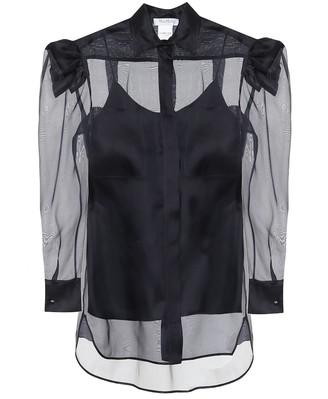 Max Mara Fachiro silk chiffon shirt