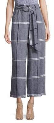 Suno Rind Tie Cropped Pants