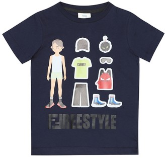 Fendi Kids Cotton T-shirt