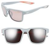 Nike Women's Fleet 55Mm Sport Sunglasses - Matte Anthracite