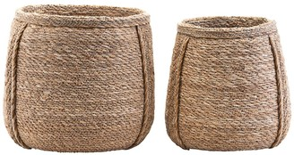 """House Doctor - Set of 2 Baskets """"Plant"""""""