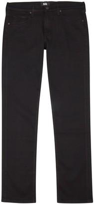 Paige Lennox black slim-leg jeans