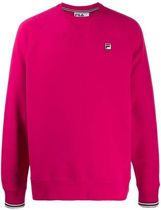 Fila logo patch relaxed-fit sweatshirt
