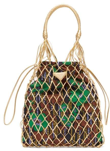 36f13dbe6571 Prada Gold Handbags - ShopStyle