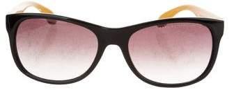 Marc by Marc Jacobs Gradient Square Sunglasses