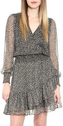 MICHAEL Michael Kors 70s Baby Cat Ruffle Dress