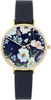 Accessorize Botanical Floral Print Watch