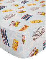 Marvel Comics Fitted Sheet - Single