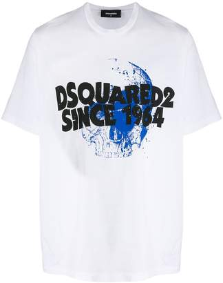 DSQUARED2 printed skull T-shirt