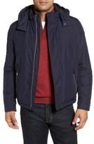 Paul & Shark Men's Fleece Lined Hooded Jacket