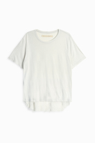 Raquel Allegra Boxy Shred Back T-Shirt