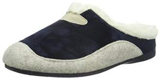 Hans Herrmann Collection Women's HHC Warm Lined Slippers Blue Size: 8