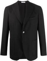 Boglioli Tailored Single-Breasted Suit Jacket