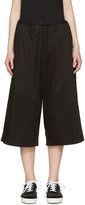 Y's Black Sarouel Trousers
