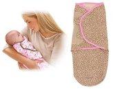 Summer Infant SwaddleMe 2 PK Cotton Knit - Jungle Honeys/Leopard, Large