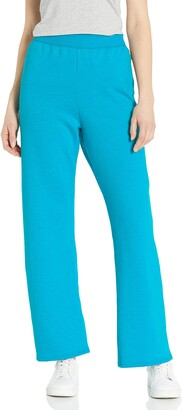 Hanes Women's Petite Open Bottom Sweatpant