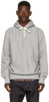 Junya Watanabe Grey man Cant Live Without Hip Hoodie