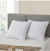 Serta Feather Euro Square Pillow - European Square - White - Pack of 2