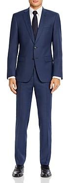 BOSS Huge/Genius Tonal Tic Stripe Slim Fit Suit