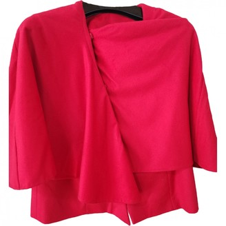 Ports 1961 Red Cashmere Jacket for Women