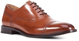 Geox Saymore Leather Cap-Toe Oxfords