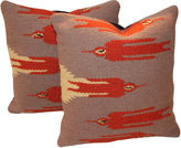 One Kings Lane Vintage Flight Bird Pillows, S/2