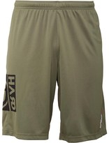 Reebok Mens One Series Speedwick Graphic Training Board Shorts Canopy Green