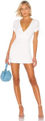 superdown Selma Keyhole Mini Dress