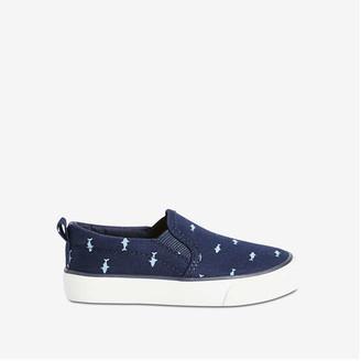 Joe Fresh Toddler Boys' Slip-On Sneakers, Navy (Size 10)