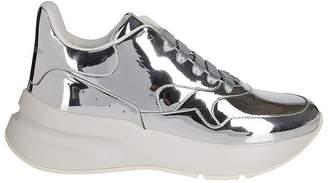 Alexander McQueen Oversized Metallic Sneakers