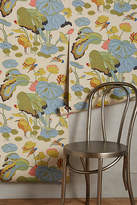 Anthropologie Humming Marsh Wallpaper