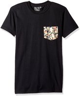 Naked & Famous Denim Men's Festival Flower Short Sleeve Pocket Tee Shirt
